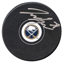 Zemgus Girgensons Autographed Buffalo Sabres Hockey Puck