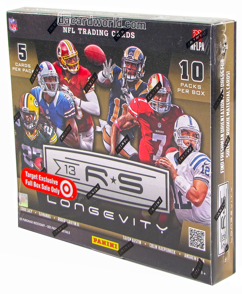 2013 Panini Rookies & Stars Longevity Football 20-Box Case