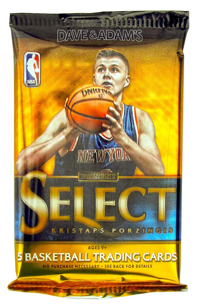 2015  16 panini select basketball hobby pack