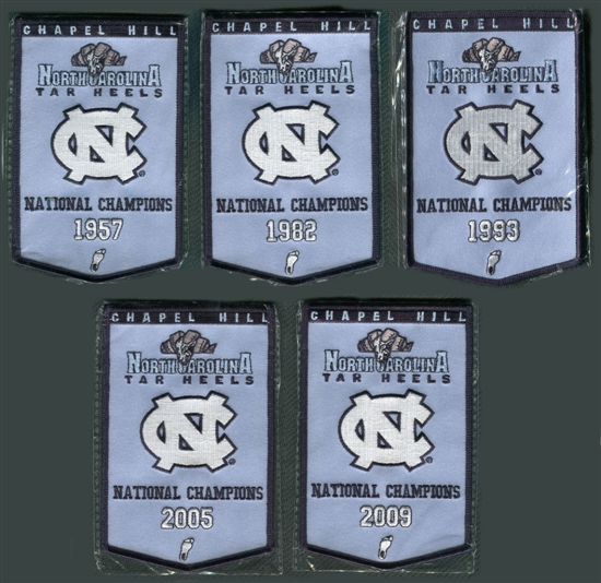 2010/11 Upper Deck UNC North Carolina Basketball Championship Mini ...