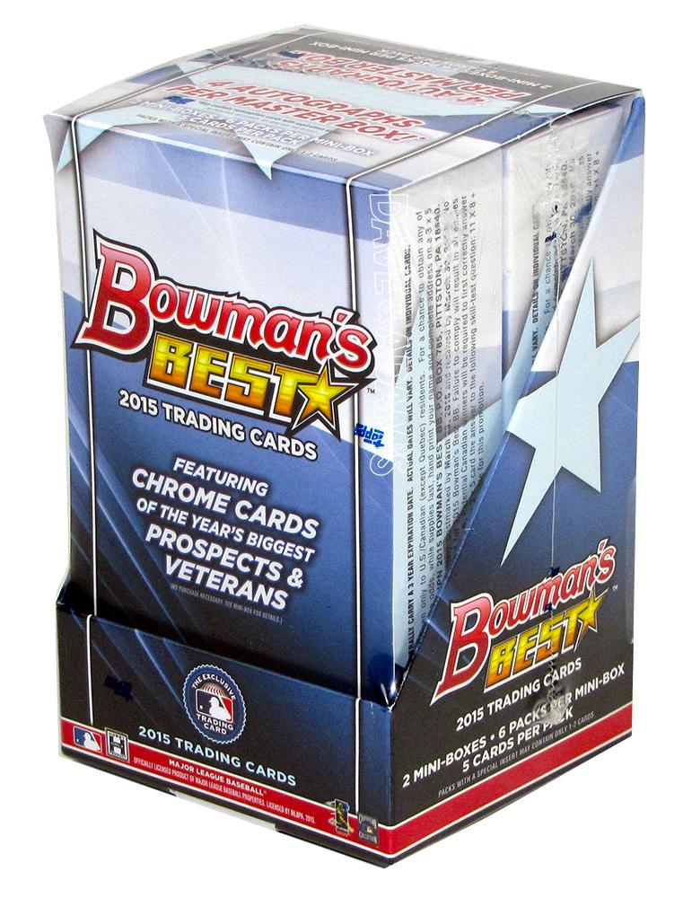 2015 bowman 39 s best baseball hobby box da card world for Best cards for 2015