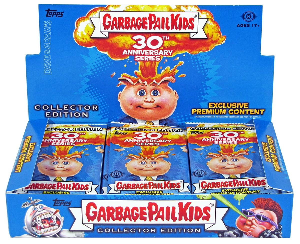 Garbage Pail Kids 30th Anniversary Collector 39 S Edition Box