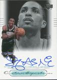 2000/01 Upper Deck Ovation Super Signatures #SA Shareef Abdur-Rahim