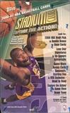 2000/01 Topps Stadium Club Basketball Jumbo Box