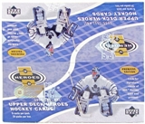 2000/01 Upper Deck Heroes Hockey Retail Box