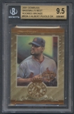 2001 Donruss #RDK3 Albert Pujols Bronze Rookies Diamond Kings BGS 9.5 #858/999