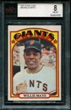 1972 O-Pee-Chee Baseball #49 Willie Mays BVG 8 (NM-MT) *4030