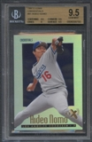 1997 E-X2000 Baseball #81 Hideo Nomo Credentials #067/299 BGS 9.5 Gem Mint *6793