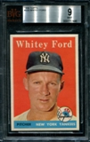 1958 Topps Baseball #320 Whitey Ford BVG 9 (MINT) *2446