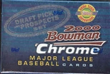 2000 Bowman Chrome Draft Picks Baseball Factory Set (Box)