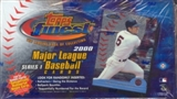 2000 Topps Finest Series 1 Baseball Hobby Box
