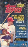 2000 Topps Series 1 Baseball Hobby Box
