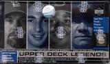 2000 Upper Deck Legends Baseball Hobby Box