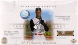 2000 Upper Deck SP Authentic Baseball Hobby Box