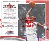 2000/01 Fleer Genuine Basketball Hobby Box