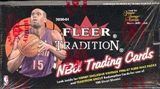 2000/01 Fleer Tradition Basketball Hobby Box