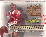 2000 Skybox Dominion WNBA Basketball Hobby Box
