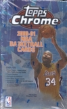 2000/01 Topps Chrome Basketball Hobby Box