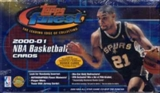2000/01 Topps Finest Basketball Jumbo Box
