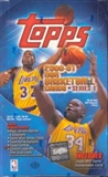 2000/01 Topps Series 1 Basketball Hobby Box