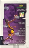 2000/01 Upper Deck MVP Basketball Hobby Box
