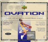 2000/01 Upper Deck Ovation Basketball Hobby Box