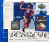 2000/01 Upper Deck Reserve Basketball Hobby Box