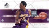 2000/01 Upper Deck SP Authentic Basketball Hobby Box