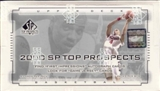 2000/01 Upper Deck SP Top Prospects Basketball Hobby Box