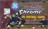 2000 Bowman Chrome Football Hobby Box