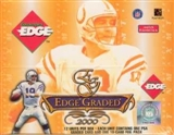 2000 Collector's Edge Graded Football Hobby Box