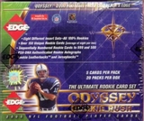 2000 Collector's Edge Odyssey Football Hobby Box