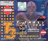 2000 Collector's Edge T-3 Football Hobby Box