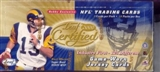 2000 Leaf Certified Football Hobby Box