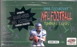 2000 Pacific Paramount Football Hobby Box