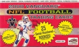 2000 Pacific Vanguard Football Hobby Box