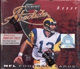 2000 Playoff Absolute Football Hobby Box