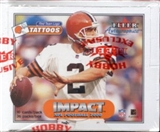 2000 Skybox Impact Football Hobby Box