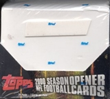 2000 Topps Season Opener Football Hobby Box