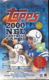 2000 Topps Football Jumbo Box
