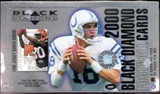 2000 Upper Deck Black Diamond Football Hobby Box