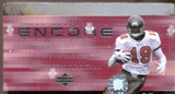 2000 Upper Deck Encore Football Hobby Box