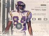 2000 Upper Deck Graded Football Hobby Box