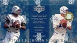 2000 Upper Deck Legends Football Hobby Box