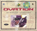 2000 Upper Deck Ovation Football Hobby Box