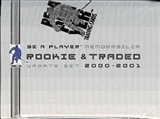 2000/01 Be A Player Memorabilia Rookie & Traded Update Hockey Factory Set (Box)