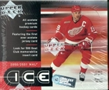 2000/01 Upper Deck Ice Hockey Hobby Box