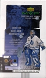 2000/01 Upper Deck MVP Hockey Hobby Box