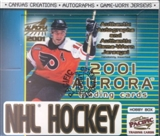 2000/01 Pacific Aurora Hockey Hobby Box