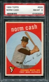 1959 Topps Baseball #509 Norm Cash Rookie PSA 8 (NM-MT) *3004